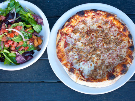 This is why The Haven Pizzeria's lunch combo is worth trying