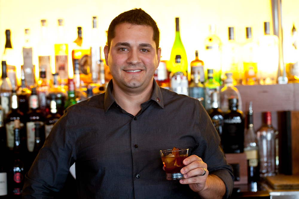 Beverage manager of Twenty/20, Stephen George photo credit - jarnard sutton