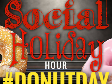 [PODCAST] National Donut Day | Social Holiday Hour