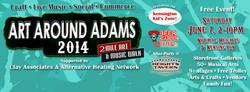 SATURDAY -- ART AROUND ADAMS