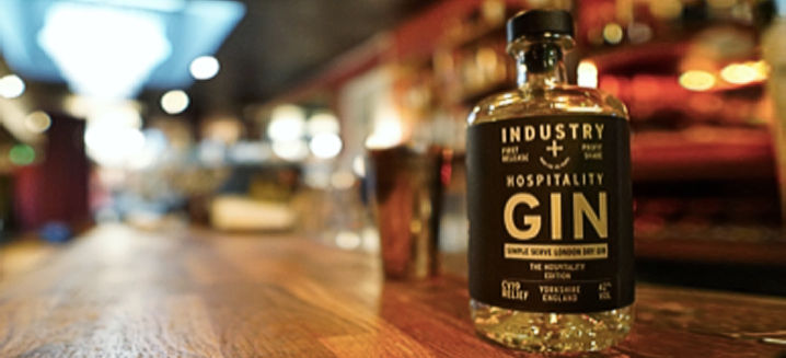 New gin created during lockdown to raise funds for the UK hospitality industry