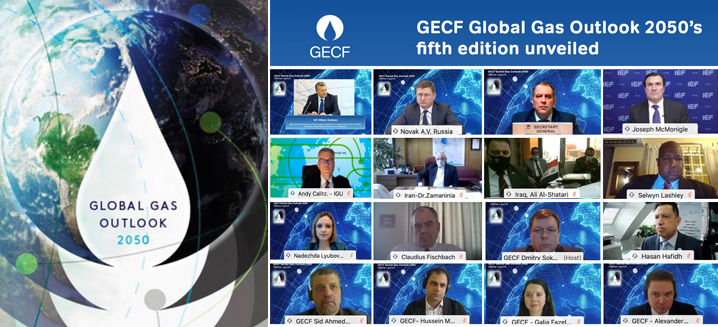 GECF unveils fifth edition of Global Gas Outlook 2050