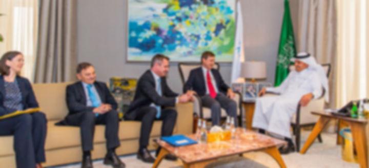 German business leaders visit KSA to exp