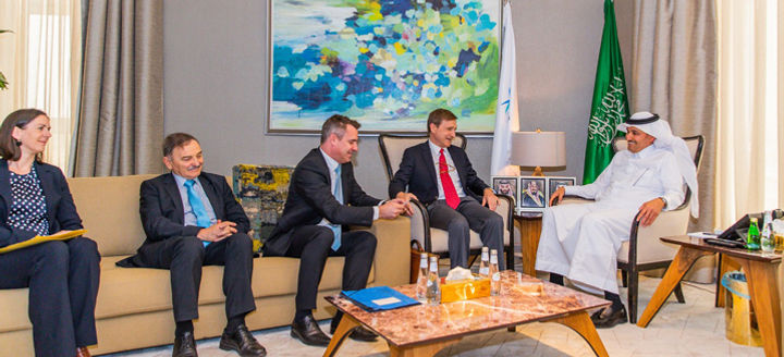 German business leaders visit KSA to exp