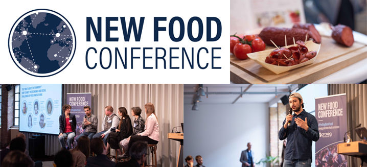 A new partnership: 'New Food Conference' @Anuga 2021