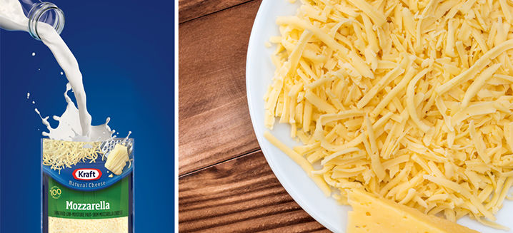 Kraft launches natural cheese products w