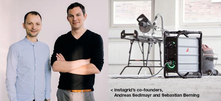 German battery firm instagrid wins Start Up Energy Transition (SET) Award