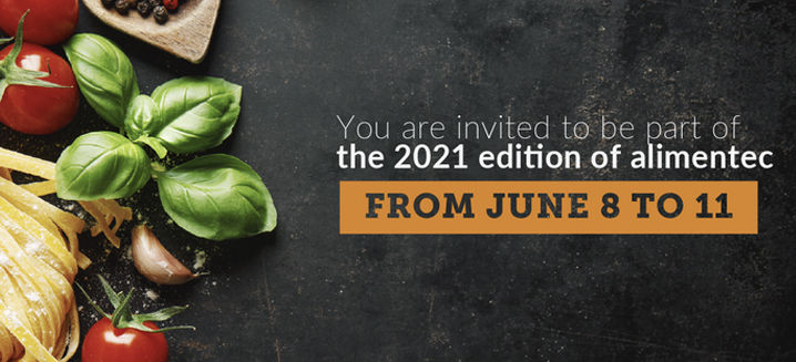 New date for Alimentec trade show: 8–11 June 2021