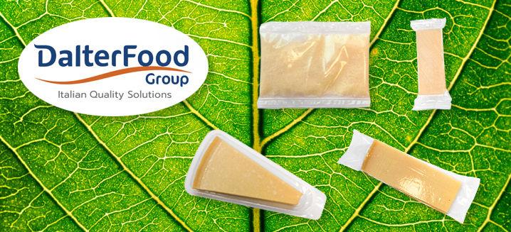 DalterFood pioneers cheese in compostabl