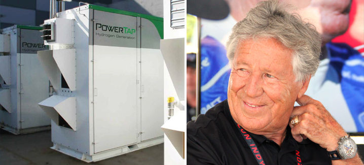 Legendary race-car driver Mario Andretti joins the hydrogen fuel movement