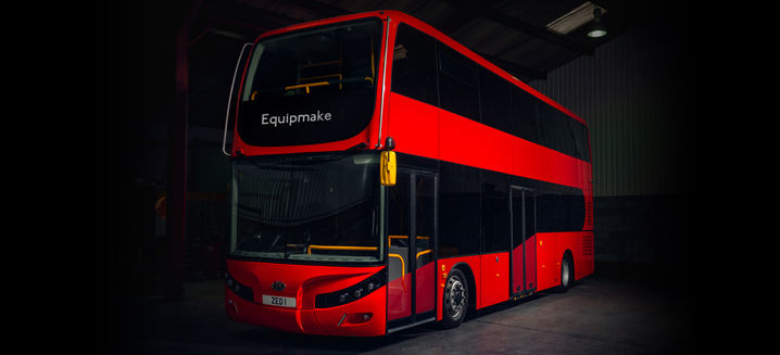 Double-decker EV bus from Equipmake and Beulas sets new global standards for range and efficiency