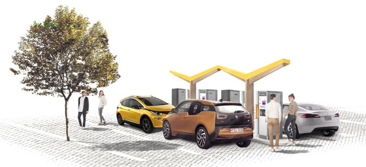 New pilot project offers fast charging s