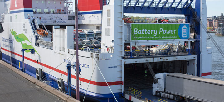 Smooth sailing for Stena Line's battery
