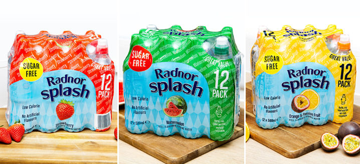 Radnor Splash unveils new flavours and packaging for Cash & Carry