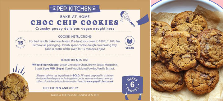 PEP Kitchen hits the sweet spot with new vegan cookie offering