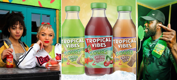 Tropical Vibes launches new 'SOURS' beverage range