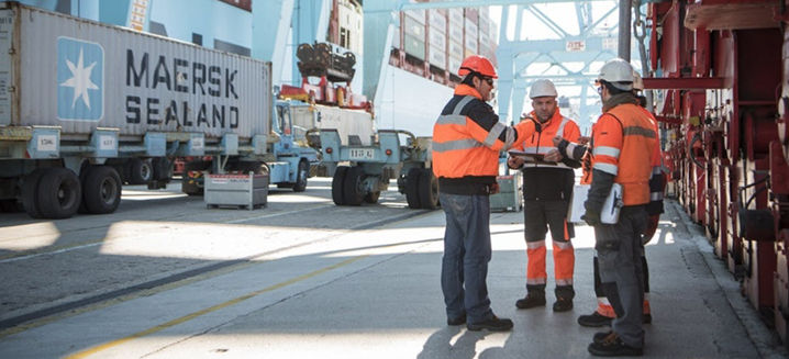 Maersk becomes first container shipping