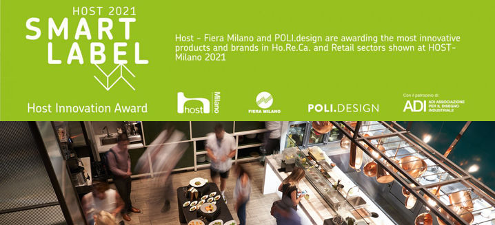 Applications open for HostMilano 2021's Smart Label, Host Innovation Award