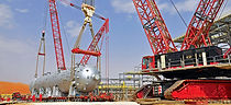 Samsung Engineering awards heavy-lifting and transport scope to Mammoet for Saudi Aramco gas storage project