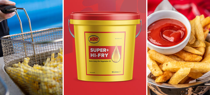 KTC's new Super Plus Hi-Fry lasts two and a half times longer than standard vegetable oil