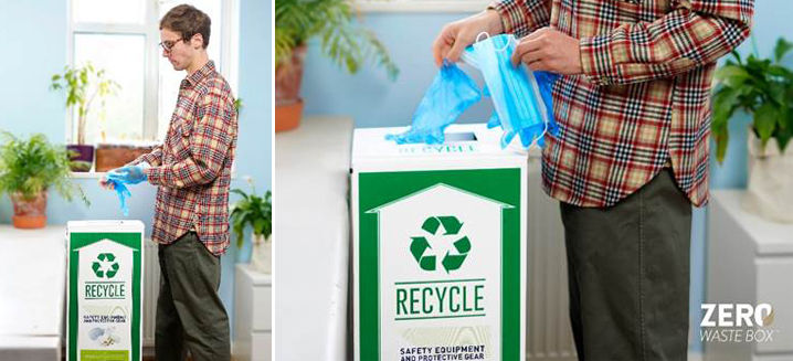 TerraCycle's 'Zero Waste Box' offers a unique, safe recycling solution for PPE waste