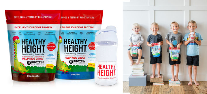 Height-boosting protein drink for kids hits Asia-Pacific's shelves