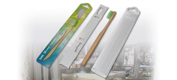 ILLIG to showcase sustainable, all-paper blister pack @Fachpack