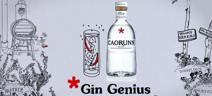 Caorunn illustrates 'Gin Genius' with first UK nationwide TV ad campaign