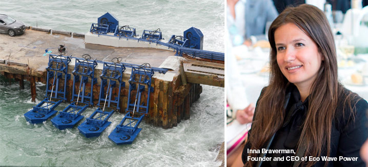 Eco Wave Power's Inna Braverman recognised amongst 2020's top Meaningful Business Leaders