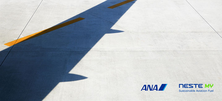 Neste and All Nippon Airways collaborate on first supply of sustainable aviation fuel in Asia
