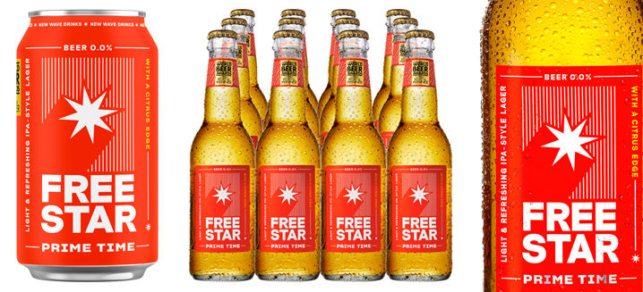Freestar's 0.0% ABV beer is a winner for both planet and consumer