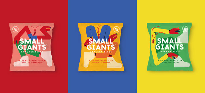 Small Giants launch super-sustainable insect-based snacks