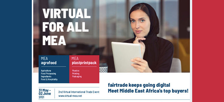 fairtrade launches 'Virtual for all Middle East Africa 2021'