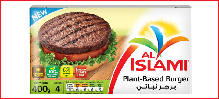 Al Islami Foods enters vegan market with new plant-based burger
