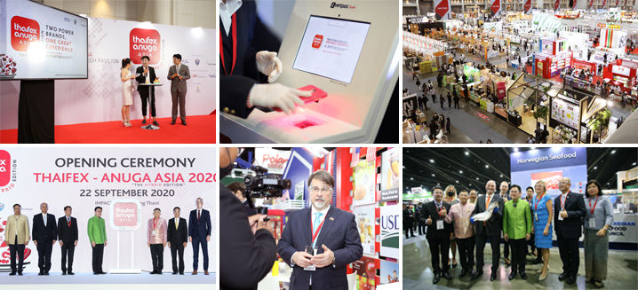 Shining a light on the F&B industry's future: THAIFEX – Anuga Asia 2020 successfully concludes