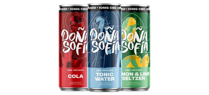 Doña Sofía launches new CBD soft drink range