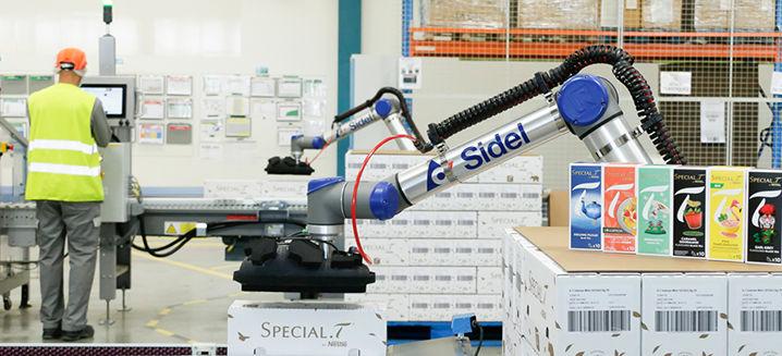 Nestlé_installs_Sidel's_cobotic_palletis