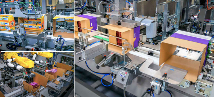 Sidel extends WB wrap-around packing platform to handle RSC cases