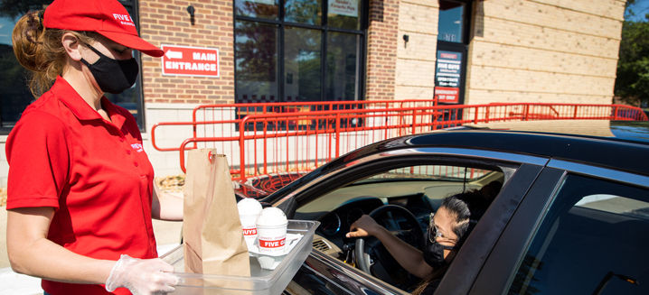 Five Guys launches 'Curbside Pickup' collection service across UK