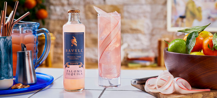 Harrods extends its 'No & Lo' offer with Savyll RTD cocktails line-up