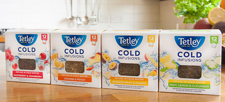 Tetley gives water a refreshing twist wi