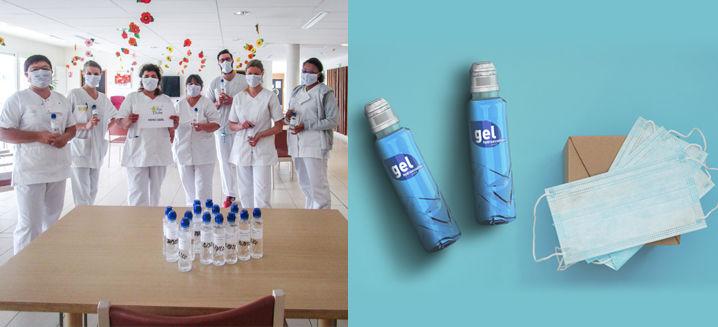 Sidel produces disinfectant bottles for