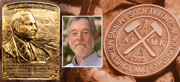 Mark Baker recognised for contributions to technical progress in mining, geology, and geophysics
