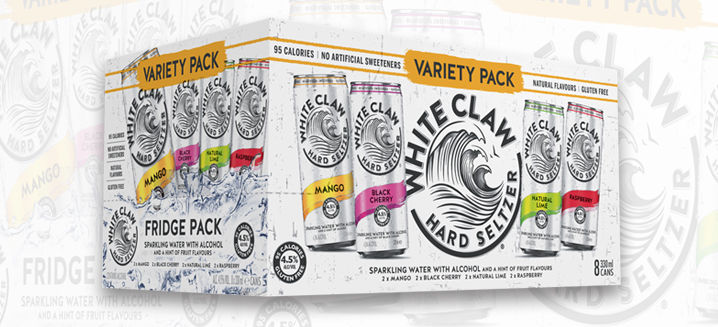 White Claw Hard Seltzer announces summer of seltzer as it launches variety pack in UK