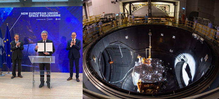 EU launches new space programme with largest ever budget