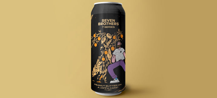 Seven Bro7hers launches limited-edition 'Peanut Butter on a Jaffa Cake' stout to mark craft brewer's 7th anniversary