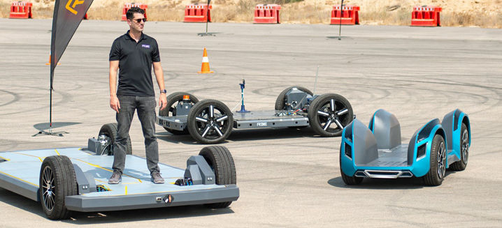 REE Automotive hits the track with 3 fully modular, next-gen EV platforms