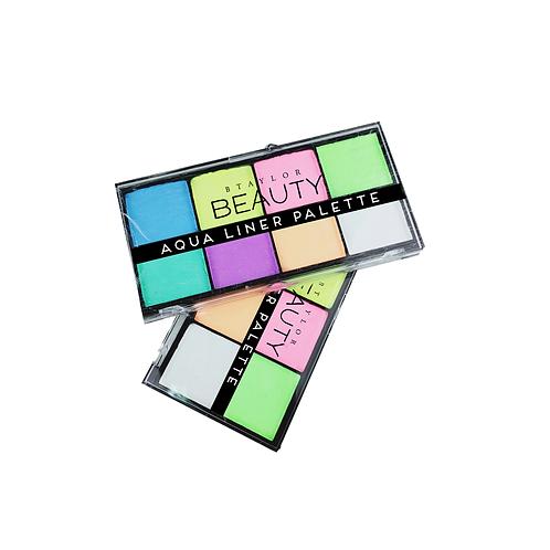 Pastel Aqua Liner Palette with FREE BRUSH