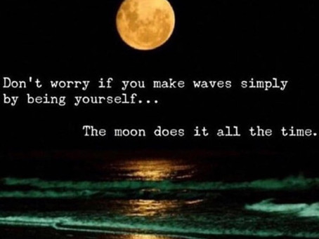Don't Worry If You Create Waves  By Being Yourself