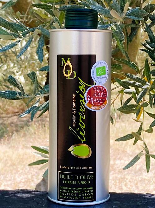 Oliversion Olivenöl Bio vierge fruite mur 500 ml